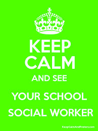 See your social worker