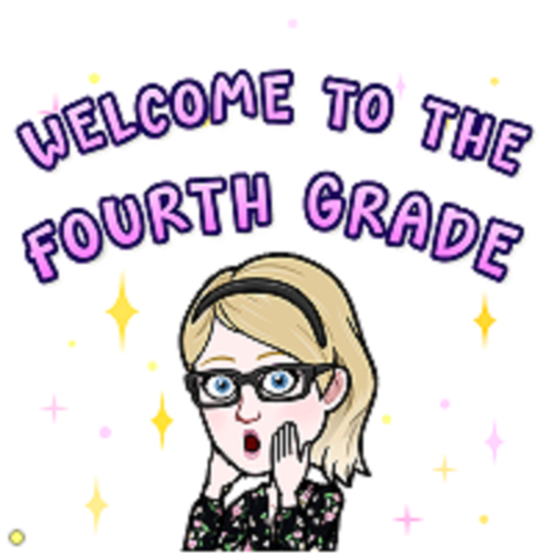 Welcome to the Fourth Grade!