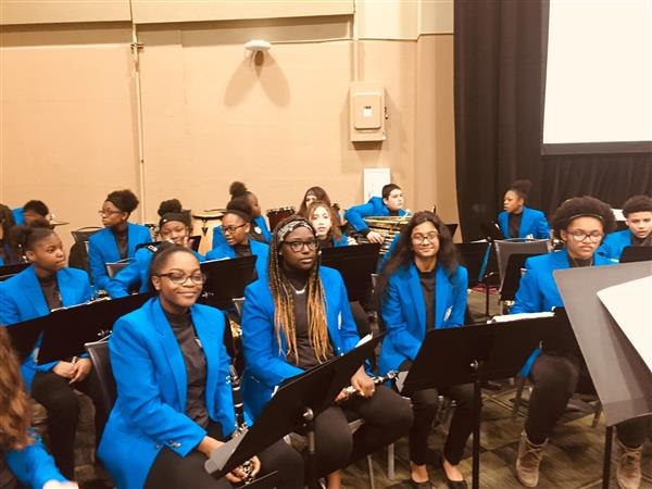 PHJH Band and Chorus performed at 2019 Superintendent's Commission Conference